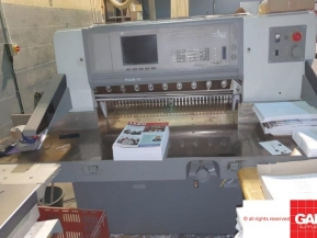 Used guillotine machines Used Polar 92 ED paper cutter - high speed guillotine
