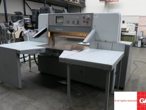 Used guillotine machines Polar Mohr 115 ED paper guillotine from UK