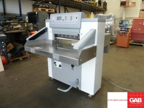 Used guillotine machines Polar Mohr 66E paper cutter from UK