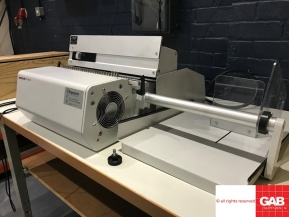 Used Other Machinery Renz DTP 340A Semi Automatic electric Punch with James Burn electric wire closer