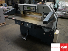 Used guillotine machines Schneider 92 guillotine - paper cutting machine