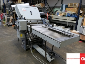 Used folder machines Stahl Ti 52/4 with KBK/MW-52 - Second fold station