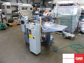 Used folder machines Stahl T36 Pharmaceutical paper folding machine with STA-30 vertical stacker delivery