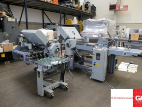 Used folder machines Stahl T 52 44X sixteen pages paper folder