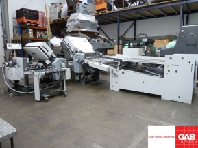Used folder machines Used Stahl RD 66 4-4-1 paper folder for sale