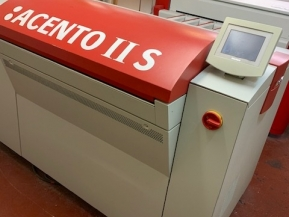 Used Pre - press Machinery Agfa Acento II S high speed CTP machine - Screen PT-R4300S