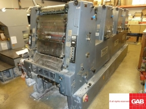 Four colour used offset printing machines Used Heidelberg GTO 46 VP four color offset machine