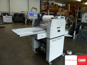 Used Other Machinery Matrix MX-530P pneumatic laminator for sale