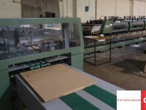 Used saddle stitching machines Used Muller Martini Preto 6+1 saddle stitching line
