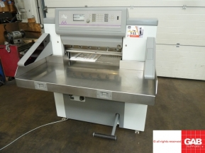 Used guillotine machines Used Polar 66 paper cutting machine