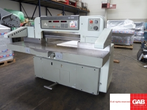 Used guillotine machines Used Polar 92 EM guillotine paper cutter