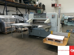 Used guillotine machines Used Polar 115 EMC-MON paper guillotine