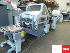 Used folder machines Used Stahl KC 66 4KTL paper folder