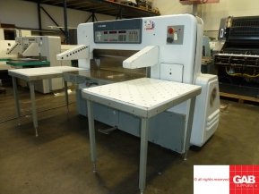 Used guillotine machines USED POLAR 115 EMC GUILLOTINE