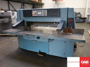 Used guillotine machines wohlenberg 115 cm guillotine - paper cutting machine