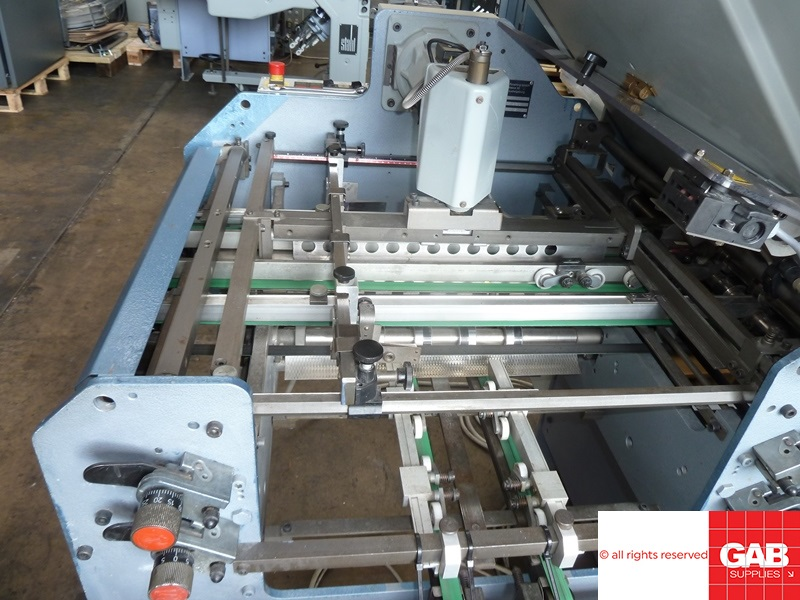 STAHL TI 52/4-X PAPER FOLDING MACHINE